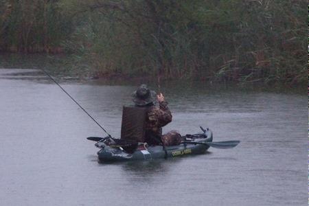 Kayak fishing advantures